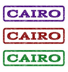 cairo watermark stamp vector image vector image