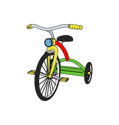 Tricycle-380x400 vector image vector image