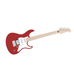 electric guitar flat vector image