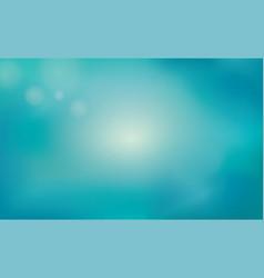 blur blue summer background underwater nature vector image
