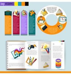 Design Infographics Set vector image