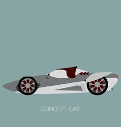 futuristic super car vector image