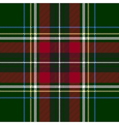 Green red check plaid texture seamless pattern vector