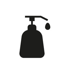 Liquid soap icon on white background vector
