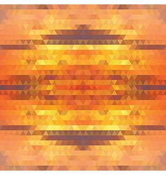Pattern geometric Background with triangles vector