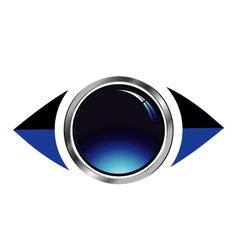 Vision logo vector image