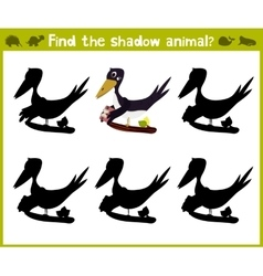Educational game for children of kindergarten and vector image