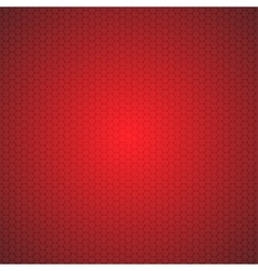 Red Mosaic Tile Honeycomb Background vector image vector image