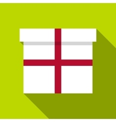Gift icon flat style vector