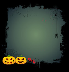 grunge halloween background 0409 vector image
