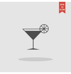 Lounge Flat design style vector image