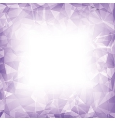 Purple Polygonal Background vector