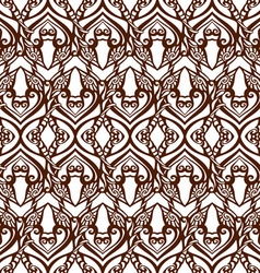 Seamless doodle pattern vector image vector image