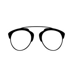 Set various glasses stylish sunglasses vector