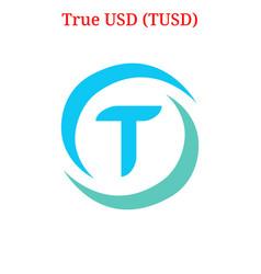True usd tusd logo vector