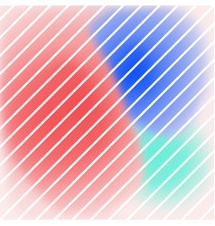 bright colour abstract stripe background vector image