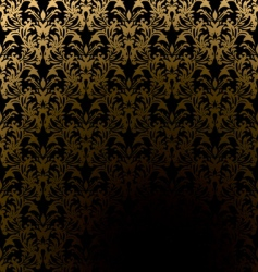 classic wallpaper pattern vector image