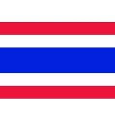 National flag of Thailand vector
