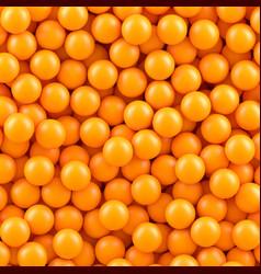orange balls background vector image