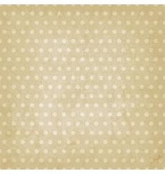Polka dot pattern old background vector