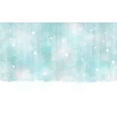 Winter Bokeh Background seamless vector image