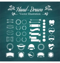 Hand-draw vector image vector image