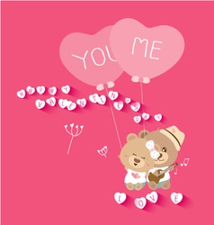 Love concepts for valentines day vector image vector image