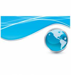 world document vector image vector image