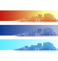 Cityscapes Banner vector image vector image