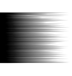 abstract black speed line motion on white vector image