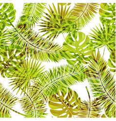 Beautiful seamless floral summer pattern vector