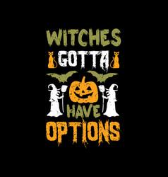 halloween t shirts design graphic vector image