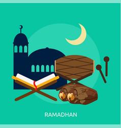 Ramadhan conceptual design vector