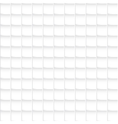 Seamless white squares pattern abstract background vector image