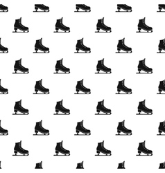 Skates pattern simple style vector image