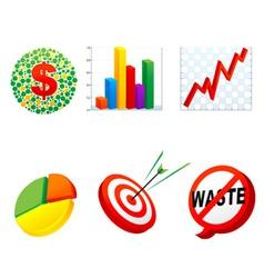 Business symbol vector