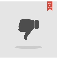 Like icon Flat design style modern vector image vector image