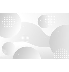 abstract background with circles and halftone dots vector image