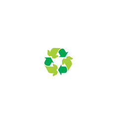 clothing recycle logo icon vector image