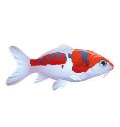Fish koi vector