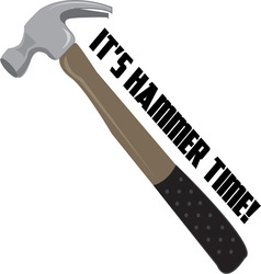 Hammer time vector