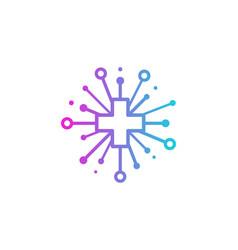 health share logo icon design vector image
