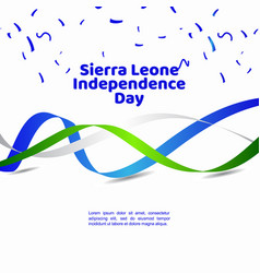 Italy liberation daysierra leone independence day vector