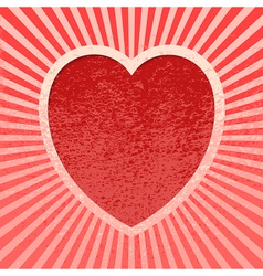 Pink Grunge Valentine vector