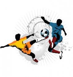Soccer skill vector