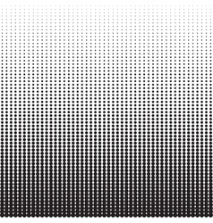 Vertical Dots Halftone Pattern vector image