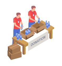 Volunteering vector
