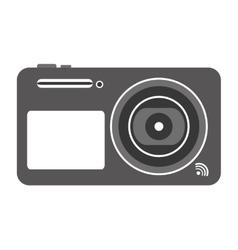 digital photographic camera icon vector image