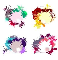 set of modern dialog bubbles vector image