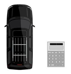 Car loan concept vector